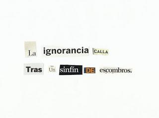 La ignorancia calla