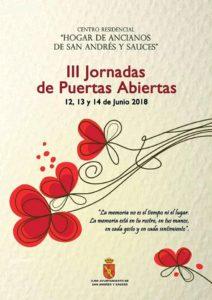III Jornadas de Puertas Abiertas Centro de Mayores de San Andrés y Sauces · Sandra Lorenzo y Belén Lorenzo