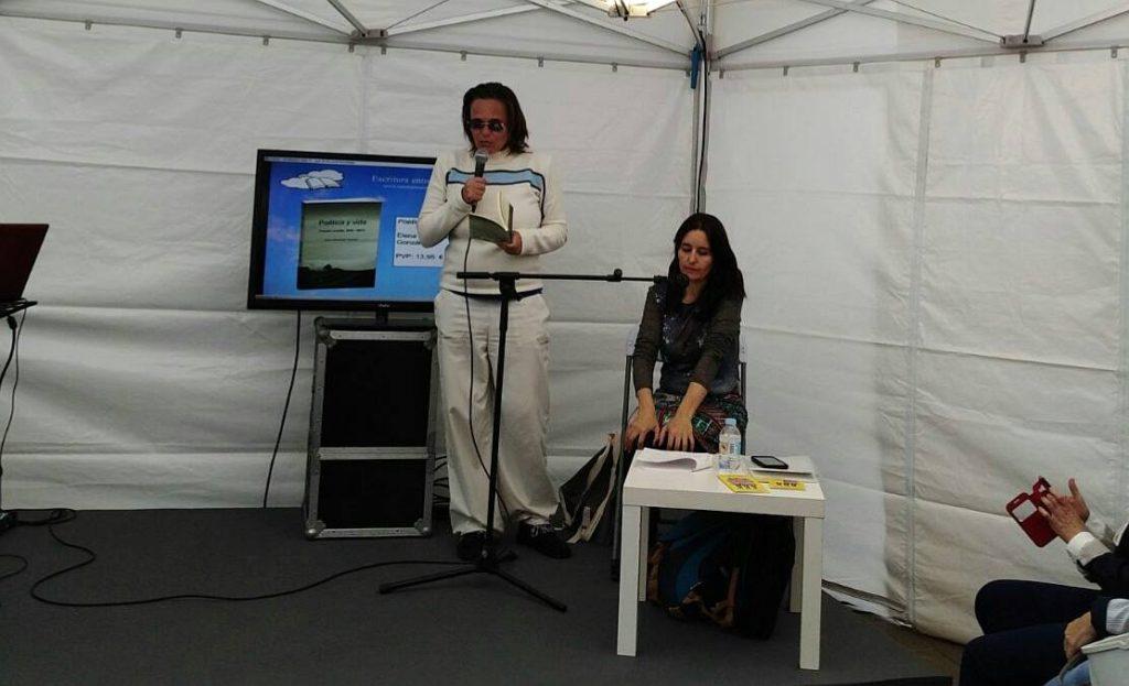 Recital de poemas y aforismos Parque García Sanabria