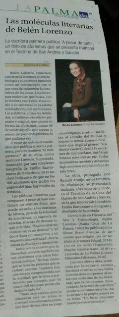 http://diariodeavisos.elespanol.com/2017/07/las-moleculas-literarias-belen-lorenzo/