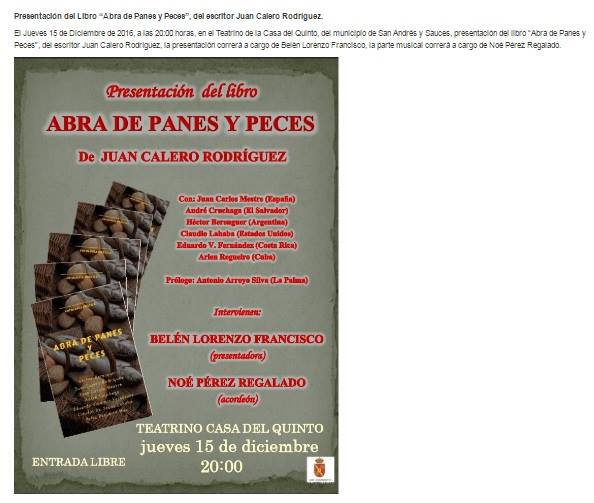 http://www.latunera.es/index.php/health-menu/996-presentacion-del-libro-abra-de-panes-y-peces-del-escritor-juan-calero-rodriguez